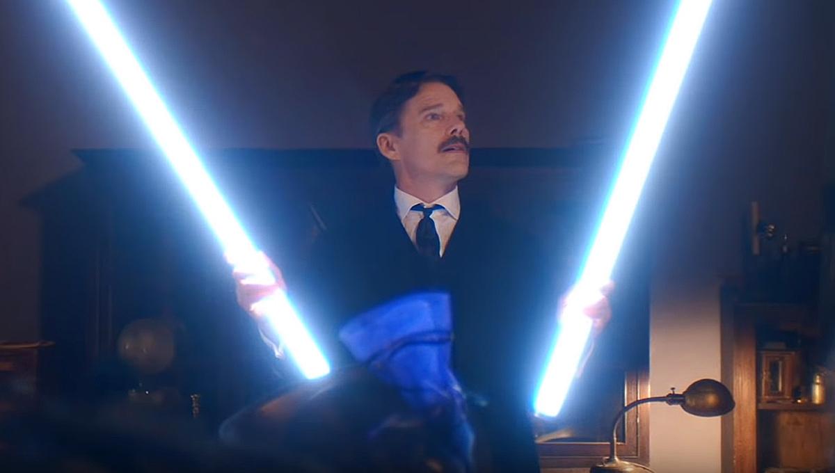 Entrez dans la vie de Nikola Tesla avec Ethan Hawke