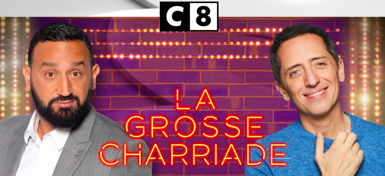 Cyril Hanouna face à Gad Elmaleh pour la Grosse Charriade